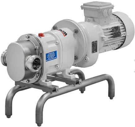TLS Close-coupled Rotary Lobe Pump